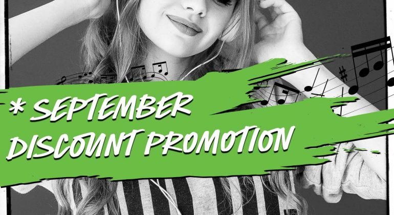Music Promotion - PPN Song Marketeers - September Special - 10% Discount - Monthly Special Deals - Playlist Pitch Network - Organic Playlist Pitching - playlistpitchnetwork.com