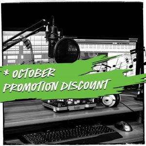 october special discount ppn music promotion organic playlist pitching spotify placement